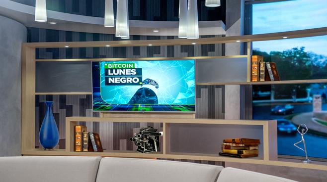 TV Azteca - Mexico City, Mexico - News Sets Set Design - 19