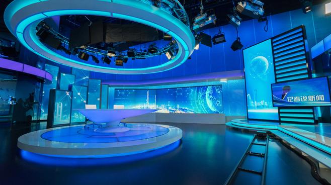 BTV - Beijing - News Sets Set Design - 1