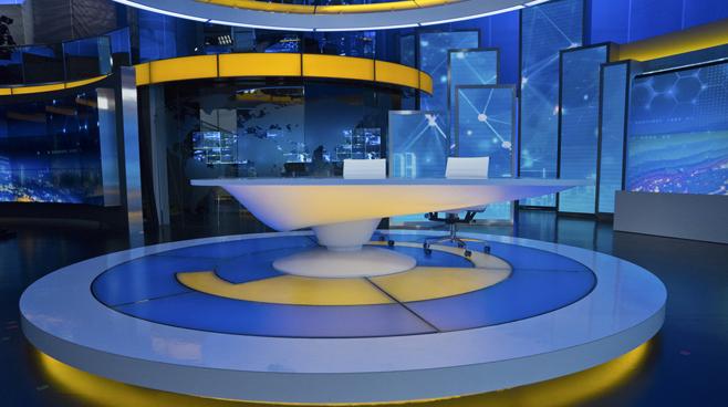 BTV - Beijing - News Sets Set Design - 2
