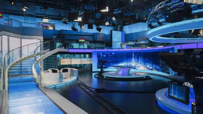 BTV - Beijing - News Sets Set Design - 6