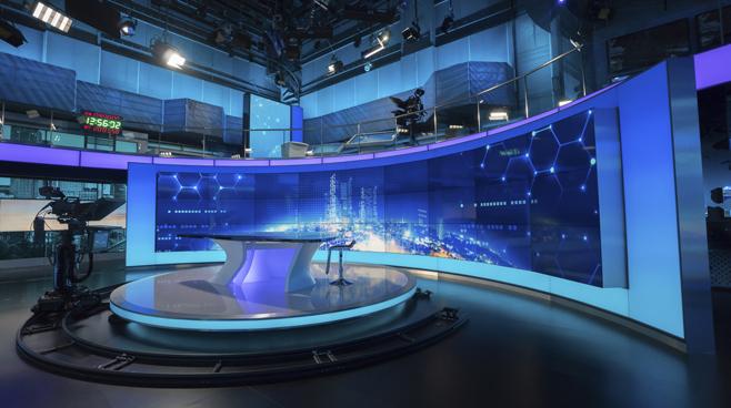 BTV - Beijing - News Sets Set Design - 7