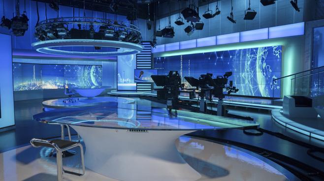 BTV - Beijing - News Sets Set Design - 10