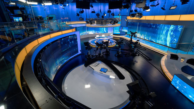 BTV - Beijing - News Sets Set Design - 11