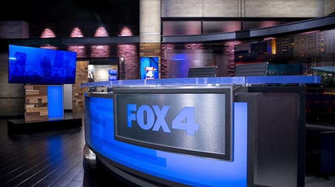 WDAF - Kansas City, MO - News Sets Set Design - 1