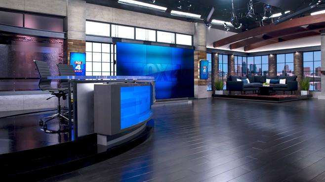 WDAF - Kansas City, MO - News Sets Set Design - 2