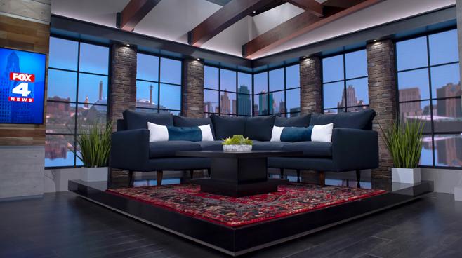 WDAF - Kansas City, MO - News Sets Set Design - 4