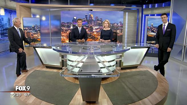 KMSP - Minneapolis, MN - News Sets Set Design - 2