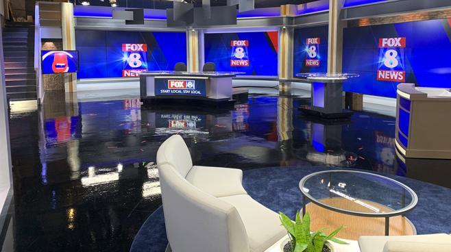 WGHP - High Point, NC - News Sets Set Design - 1