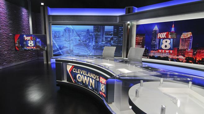 WJW - Cleveland, OH - News Sets Set Design - 2