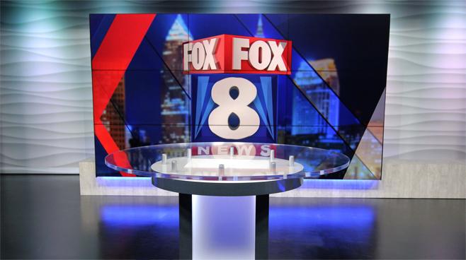 WJW - Cleveland, OH - News Sets Set Design - 4