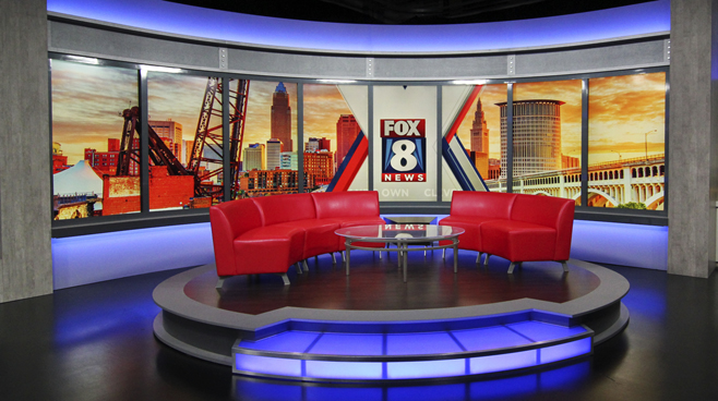 WJW - Cleveland, OH - News Sets Set Design - 5