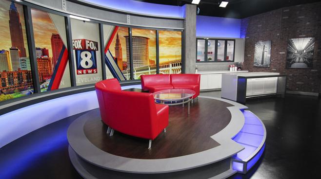 WJW - Cleveland, OH - News Sets Set Design - 6
