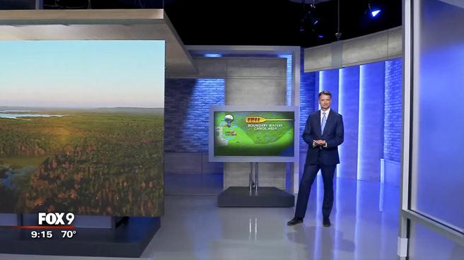 KMSP - Minneapolis, MN - News Sets Set Design - 11