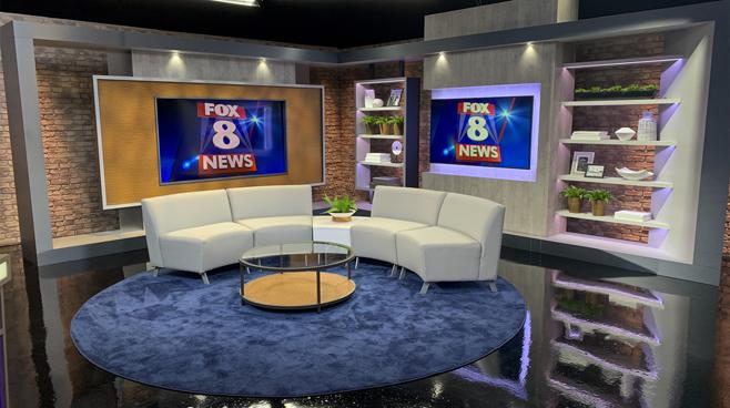 WGHP - High Point, NC - News Sets Set Design - 10