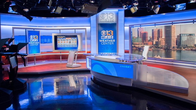 WJZ - Baltimore, MD - Weather Centers Set Design - 2