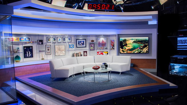 WJZ - Baltimore, MD - Talk Shows Set Design - 1