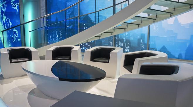 BTV - Beijing, China - Talk Shows Set Design - 2