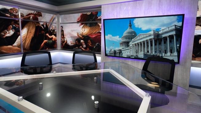 FiscalNote - Washington, DC - News Sets Set Design - 3