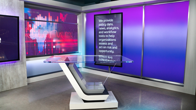 FiscalNote - Washington, DC - News Sets Set Design - 5