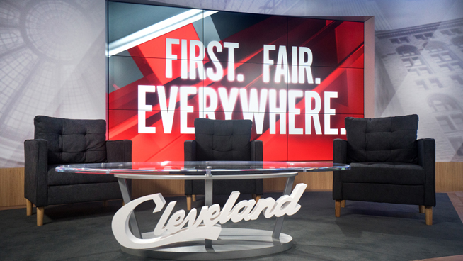 WOIO - Cleveland, OH - News Sets Set Design - 19